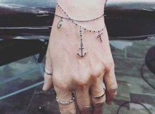 tatuagens de pulseira
